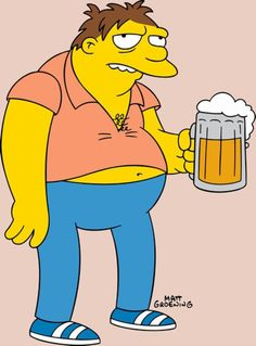 Springfield Characters: Barney Gumble