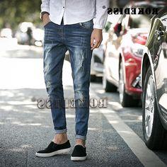 28.77$  Buy now - https://alitems.com/g/1e8d114494b01f4c715516525dc3e8/?i=5&ulp=https%3A%2F%2Fwww.aliexpress.com%2Fitem%2F2016-Autumn-And-Winter-The-New-Men-jeans-Leisure-fashion-Slim-Adolescents-trousers-Cotton-Elasticity-Cat%2F32760784614.html - Men 2016 Spring Autumn New pattern men's hole scratch jeans male Pencil cowboy pants menswear cotton zipper denim trousers F025 28.77$
