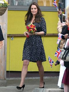 Kate Middleton Will Inspire You to Wear Polka Dots #InStyle