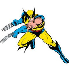 Wolverine Classic Giant Wall Decal