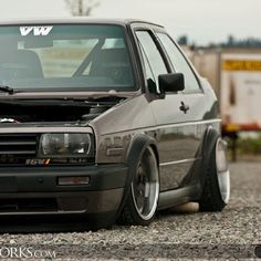 Jetta coupe Volkswagen Golf Mk2, Vw Mk1, Bmw E38, Good Looking Cars, Unique Cars, Jdm Cars, Custom Cars, Cars And Motorcycles, Counting Cars