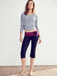 The Most-Loved Yoga Crop Pant