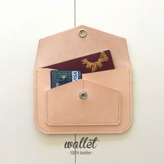 wallet · 100% leather · http://marieladias.tictail.com