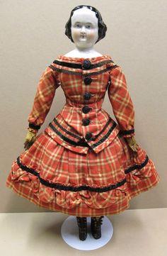 Antique 1860's Kister All Original China Head Doll | eBay