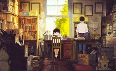 From Up on Poppy Hill [ コクリコ坂から Kokuriko-zaka Kara] (Gorō Miyazaki, Hayao Miyazaki, All Studio Ghibli Movies, Studio Ghibli Art, Up On Poppy Hill, L Death, Japon Illustration, Howls Moving Castle, My Neighbor Totoro, Animation