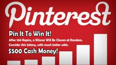 Tell your friends! After 100 Repins, Our Software Will Chose A Winner At Random. $500 Grand Prize. Spread the word! #contest #cash #money #pin