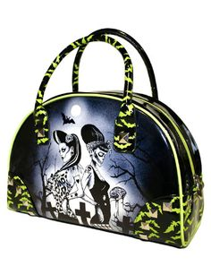 Bates Bowling Bag by Too Fast Clothing- Twisted