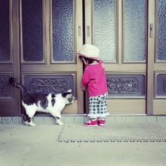 Love this picture of friendship - curiosity and collabration combine for delight.