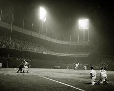 Night Baseball at the Polo Grounds
