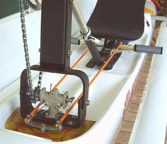 Boats / Pedal Boats: Legs better than arms