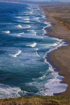 Point Reyes Long Beach .. by Garry Gay