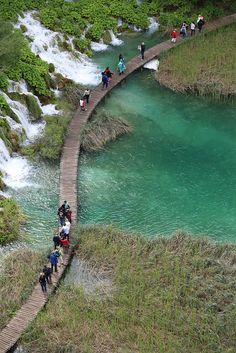 Plitvice National Park, Croatia:)