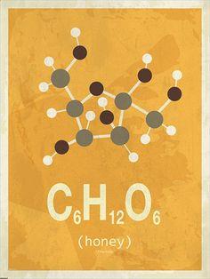 Molekyle Honning 50x70