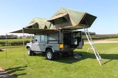 2012 Land Rover 110 Defender Expedition 4x4 with 2 double pop up tents - 4 berth - St Helens, Lancashire