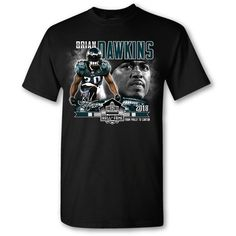 Philadelphia Eagles Brian Dawkins Hall of Fame From Philly to Canton t-shirt. Nfl Hall Of Fame, Football Hall Of Fame, Brian Dawkins, Philadelphia Eagles, Tees, Mens Tops, T Shirt, Youth, Sports