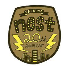 nest20周年記念公演ロゴ