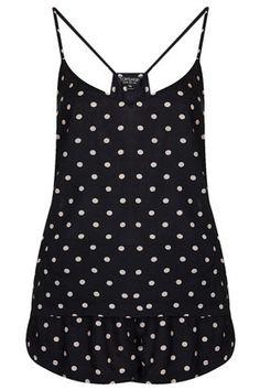 Polka Dot Cami and Short PJ - Lingerie & Nightwear  - Clothing - super cute!