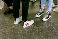 comme des garcons converse    250.00 You can get them from  ssense Outfits  Mit Converse fb7fba738