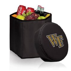 Wake Forest University Collapsible Cooler Durable 12 Quart Cooler