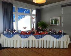 #candybuffet #blue #orange dayna mancini // event design and coordination // cutetc.com