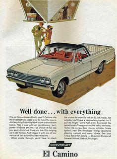 1967 Chevrolet El Camino Super Sport Pickup Truck
