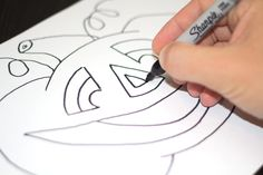 How To Draw A Jack O'Lantern - Art for Kids!