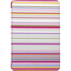 Isaac Mizrahi New York - Folio Case for Apple® iPad® mini, iPad mini 2 and iPad mini 3 - Multi - Front Zoom