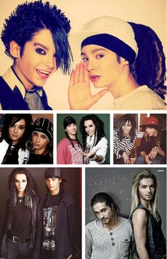 Bill & Tom Kaulitz Tokio Hotel♥