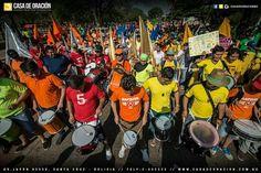 Marcha para Jesús  En Santa Cruz de la sierra Bolivia 2016