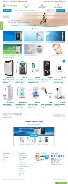 Visit our site to find best priced alkaline water ionizers, water and air filtration systems for your healthier life!