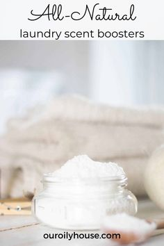 DIY laundry scent boosters are perfect for adding to your laundry routine to make your clothes smell fresh and clean. Follow this simple homemade recipe made with essential oils, Epsom salt, and baking soda. #diylaundryscentboosters ##diyscentboostersforlaundry #naturallaundryscentboosters #homemadelaundryscentboosters Fresh And Clean, Pure Essential Oils, Baking Soda, Easy Diy, Laundry, Diy Projects, Homemade Recipe, Epsom Salt, Pure Products