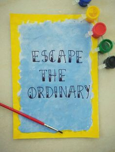 First attempt at Hand Lettering. Inspired by Pinterest. :)