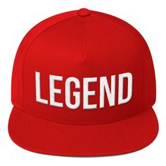Legend Puff-Embroidered Snapback - R7C