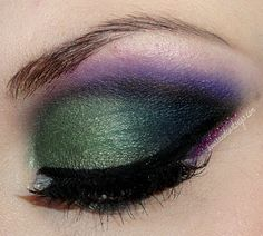 """.Bows and Curtseys...Mad About Makeup."": Whispering Woods - A Glamour Doll Eyes Look & Review"