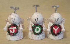 Clay Pot Joy Angels