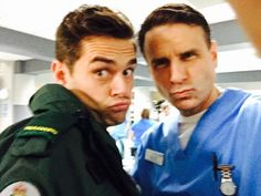 Michael & Jason Holby.tv (@holbytv) | Twitter Casualty Cast, Holby City, Television Program, Best Tv, Behind The Scenes, The Past, Tv Shows, It Cast, Memories