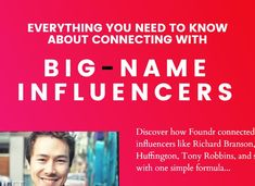 Discover the exact systems, frameworks and processes that we've used to connect with people like Richard Branson, Arianna Huffington, Tony Robbins, and more. Learn To Run, Richard Branson, Tony Robbins, Master Class, People Like, Editor, Everything, Need To Know, Connection