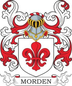 Morden Family Crest and Coat of Arms