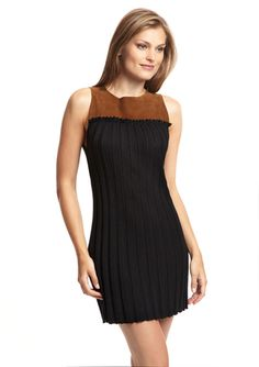 SHAE Sleeveless Colorblock Dress