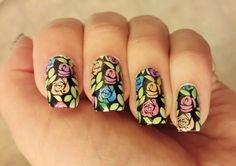 Nail Stamping LeadLight Technique!