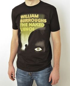 The Naked Lunch book cover t-shirt