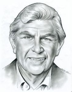 Andy Griffith by gregchapin on deviantART ~ artist Greg Joens Celebrity Caricatures, Celebrity Drawings, Celebrity Portraits, Cool Pencil Drawings, Caricature Drawing, Drawing Portraits, Pencil Portrait, Drawing People, American Actors