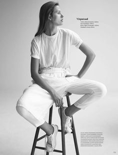visual optimism; fashion editorials, shows, campaigns & more!: nordiskt ljus: laura julie by johan sandberg for elle sweden february 2015