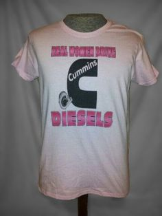 cummins t shirts | Real Woman Drive Diesels Cummins Dodge Truck Funny Cool T Shirt | eBay