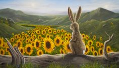The Arising, oil on canvas--Robert Bissell