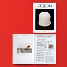 Soft Matter / Available at www.draw-down.com/ Designed by Mark Owens with Nilas Andersen. Published by Wallspace. Soft Matter includes artworks by Archizoom Associati Becky Beasley Hans Breder Tom Burr Talia Chetrit Gaylen Gerber Luisa Lambri Enzo Mari Carlo Mollino and Michael E. Smith. Text by Justin Beal as well as the first English translation of Enzo Mari's Progetto e passione (Design and Passion) which outlines Mari's personal framework for understanding the duties and obligations of…