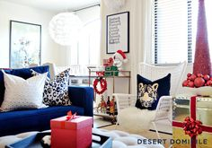 Blogger Stylin' Home Tours: Christmas 2014