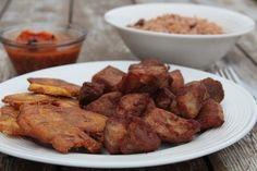 The Famous Haitian Griot (Fried Pork) – Manmie et Tatie Haitian Food Recipes, Jamaican Recipes, Pork Recipes, Cooking Recipes, Hatian Food, Island Food, Fried Pork, Caribbean Recipes, International Recipes