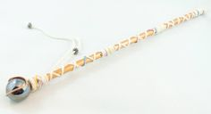 wands made from bamboo, aluminum tape, marbles, yarn, and other embellishments Gem Stones, Marbles, Wands, Celtic, Embellishments, Tape, Bamboo, Sculptures, Healing