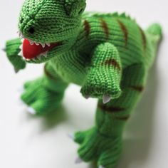 Knitting Patterns For Dinosaurs : Knitting - Want to knit it on Pinterest 64 Pins